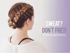 workout hair ideas the beauty dept