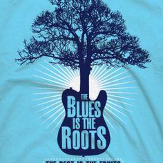 Blues T-shirt Roots