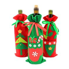 Cheap christmas decorations Buy Quality christmas decorations red directly from China christmas carnival decorations Suppliers: Christmas Wine Bottle Cover Bags Christmas Dinner Table Decoration Santa Claus New year Home Party Decors Xmas Decoration Wine Bottle Gift, Wine Bottle Covers, Wine Gifts, Bottle Bag, Christmas Decorations Dinner Table, Decoration Table, Xmas Dinner, Christmas Wine Bottles, Christmas Bags