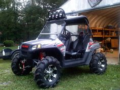 We Hit The Trails In Dragonfire S Decked Out Polaris Rzr