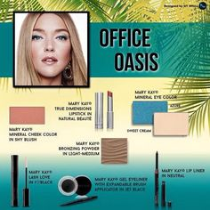 Part 2/2: This was my inspiration for today's #featurefriday look. I did make a couple additions/substitutions for my take on #officeoasis. Be sure to let me know how you think it turned out in Part 1!  marykay.com/heather.jensen facebook.com/marykaywithheatherjensen