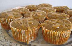 Lady Behind The Curtain - Caramel Pumpkin Pudding Cupcakes