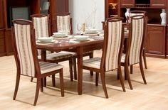 Admiral étkezőasztal székekkel