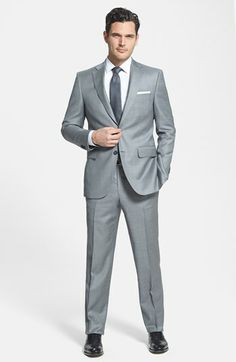 Peter Millar Classic Fit Wool Suit available at #Nordstrom