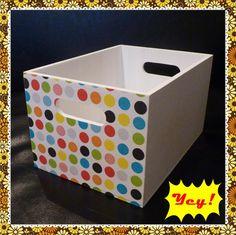 Caja multi-propósito. Diseños, tamaños y colores a elección!