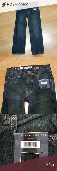Boys pants Hilfiger denim Straight freedom  Size 6 Tommy Hilfiger Bottoms Jeans