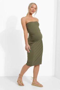 Dresses   Womens Dresses Online   boohoo UK Long Sleeve Smock Dress, Belted Shirt Dress, Midi Dress With Sleeves, Skater Bridesmaids Dresses, Boohoo Maternity, Cheap Maternity Clothes, Boohoo Dresses, Wrap Dress Floral, Green Dress