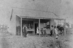 R. Crump's Family Butcher Shop on Boggo Rd,Fairfield,Brisbane in Queensland in 1894.    🌹