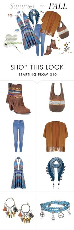 """""""summer to fall"""" by donna-france-davis ❤ liked on Polyvore featuring Mojo Moxy, River Island, Dorothy Perkins, EAST and Bling Jewelry"""