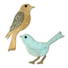 Faca Sizzix Bigz  Birds- KF78-E62.-