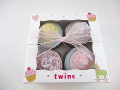 Twin Girl Baby Gift 12 piece set