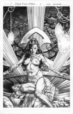 Meanwhile Back in The Dungeon..., – Jay Anacleto  Dejah Thoris