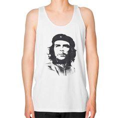 Che Guevara Unisex Fine Jersey Tank (on man)