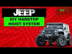 Jeep Wrangler DIY Hard Top Hoist - YouTube Jeep Wrangler Tops, Diy Tops, Jeep Stuff, Stuff To Do, Monster Trucks, Youtube, Youtubers, Youtube Movies