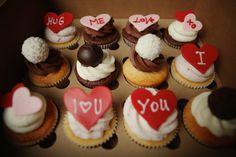 Hug Me, Cupcakes, Desserts, Food, Tailgate Desserts, Hold Me, Cupcake Cakes, Deserts, Essen