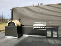 Outdoor Kitchen Design, Outdoor Kitchens, Best Outdoor Pizza Oven, Outdoor Living Rooms, Bbq Area, Backyard, Patio, Pizza Ovens, Home Appliances