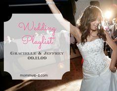 Wedding playlist from Gracielle and Jeffrey's Wedding Wedding Ceremony Music, Wedding Songs, Wedding Dj, Wedding Reception Decorations, Budget Wedding, Wedding Planner, Wedding Photos, Dream Wedding, Wedding Ideas