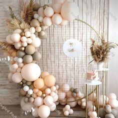 Birthday Balloon Decorations, Bachelorette Party Decorations, Birthday Balloons, Baby Shower Decorations, 21st Balloons, White Party Decorations, Wedding Balloons, Festa Toy Story, Nest Design