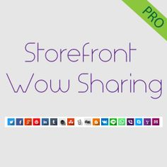 Storefront Wow Sharing – 1.0.0