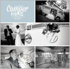 VW Campervan weddings in Devon by VW Camper Hire Devon Ltd Devon Holidays, North Devon, Vw Camper, Campervan, Volkswagen, Weddings, Movie Posters, Wedding, Film Poster