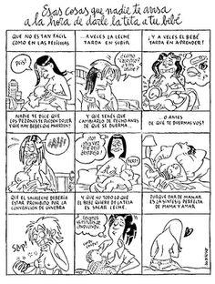 Maitena - cosas sobre la lactancia