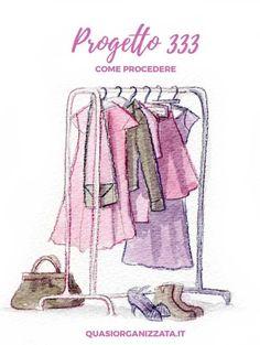 Progetto 333   guardaroba capsula   decluttering   minimalismo
