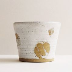 Milky Tea Cup: Remodelista - I can see this for a hot cup of tea in the winter.