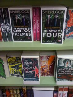 New editions of Sherlock Holmes. I want them. I want them all. OMG WHERE ARE THEY? Does that say with an introduction by Martin Freeman?!