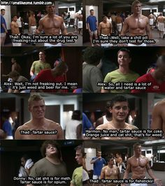 blue mountain state. Never seen this movie but this is hilarious!