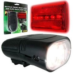 Bicycle Headlight and Taillight Set - Bicycle Accessories