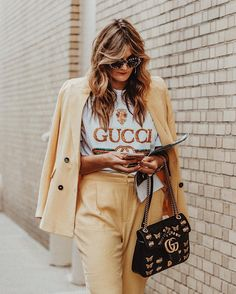 New York City fashion week Street style #nyfw #nyfw2017  tezza #gucci