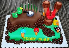 Mommy by day. Mighty hero by night.: Angry Birds Birthday Party