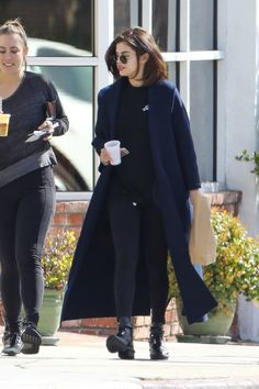 Selena Gomez in a #maxmara SS17 coat