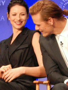 At Paley 2015. Sam and Cait being adorable. Where's the ring ??