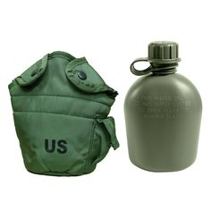 CUP Camping Bushcraft  SWEDISH ARMY COLLAPSIBLE Militray Olive Green FLEXI