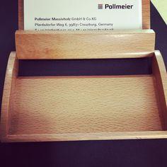 business card holder #Business #Card #holder #beech #Wood #design #pollmeier