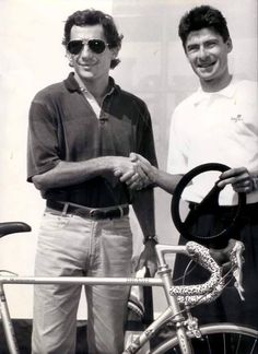 Gianni Bugno sagace Senna & Bugno bike bicycle