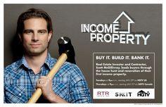 Dream Designer Scott McGillivray ~ HGTV Star of Income Property #IncomeProperty  @HGTV and @HGTV Canada