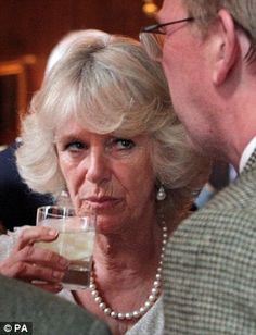 Camilla Parker Bowles - I thought Happy Hour would never get here!