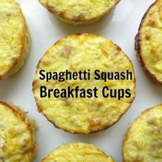 Spaghetti Squash Breakfast Cups + Giveaway - My Heart Beets