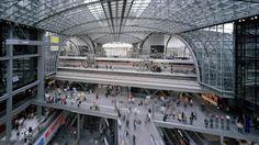 Berlin Central Station in berlin, Germany by Meinhard von Gerkan and Jürgen Hillmer  (2006)