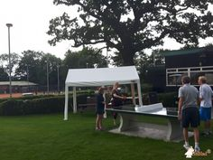 Pingpongtafel Groen bij The Recreation Ground in Hampton in Arden