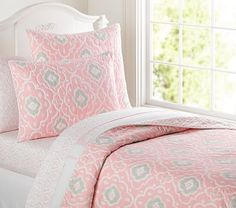 light+pink+twin+bedding | Claire Quilt, Twin, Pink