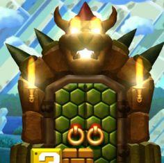 New Super Mario Bros U | Modding | Bowser's Door + Big Blocks in Acorn Plains