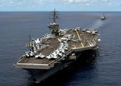 Uss Nimitz - I have toured this carrier; so majestic!