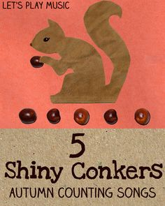 Let's Play Music : 5 Shiny Conkers on the Conker Tree - Autumn Counting Songs for Kids - Songs for Autumn Series