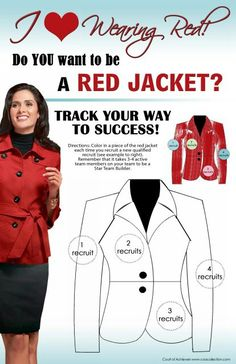 Join me in the top 6% of Mary Kay and earn your Red Jacket! Woohoo YOU CAN DO IT!  www.marykay.com/lheff
