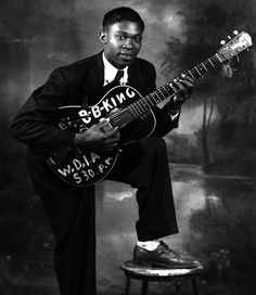 The blues was bleeding the same blood as me. B.B. King (1925-2015)