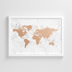 Custom Quote Printable World Map With Cities Rustic World Map