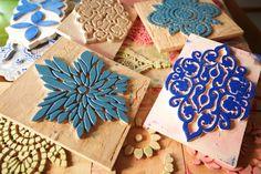 My creative process #fabrics #patterns
